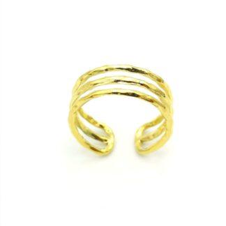 δαχτυλίδι τριπλό